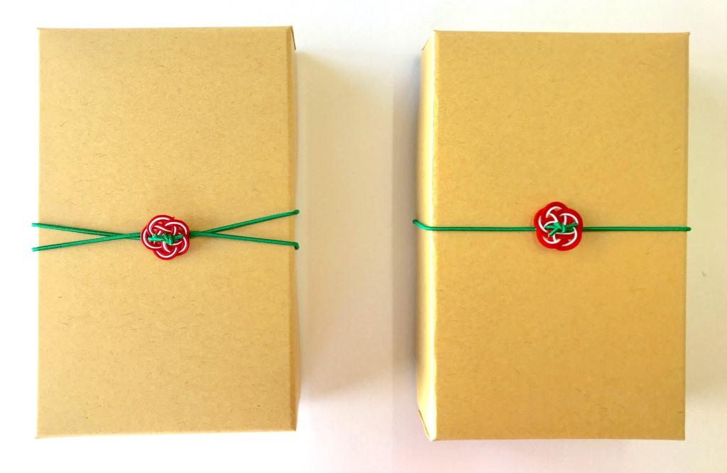 クリスマスカラーの梅結び