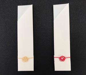 水引椿結びの箸袋