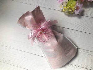 水引立体梅結びの桜飾り