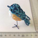 幸せの青い鳥(ルリビタキ)側面