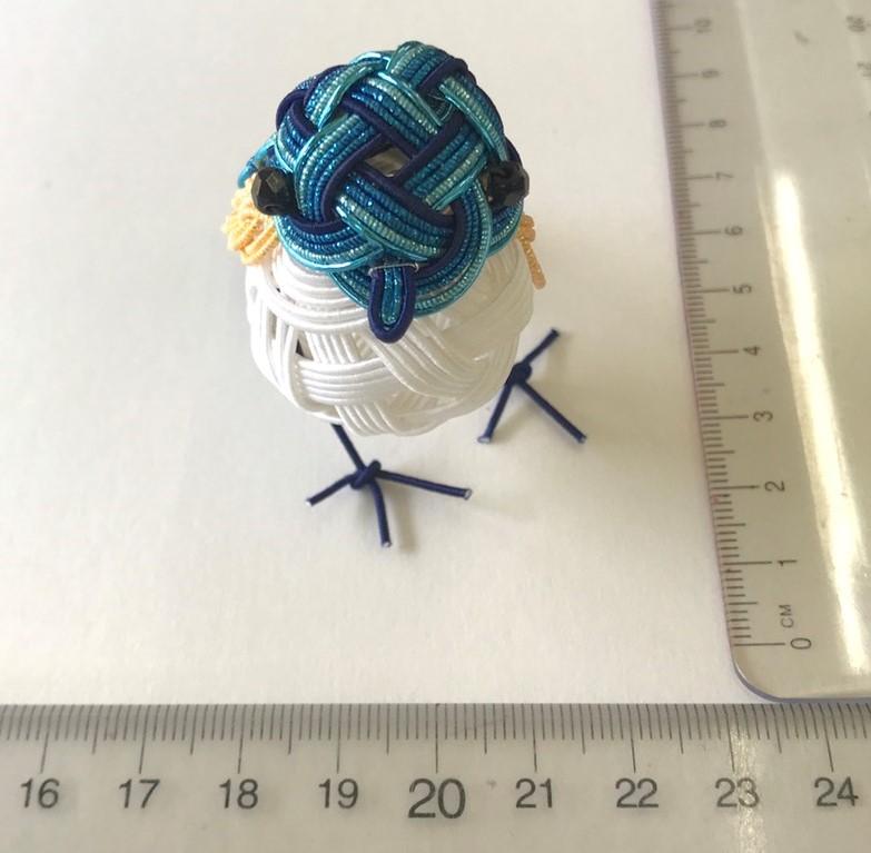 幸せの青い鳥(ルリビタキ)正面
