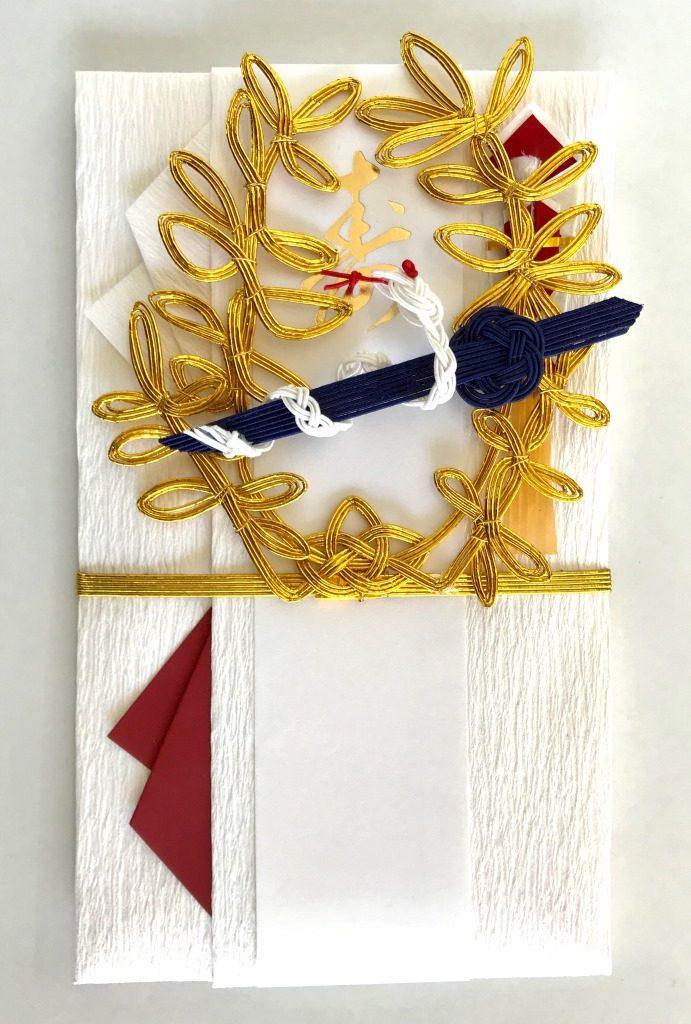 蛇、剣、月桂冠をイメージした水引細工
