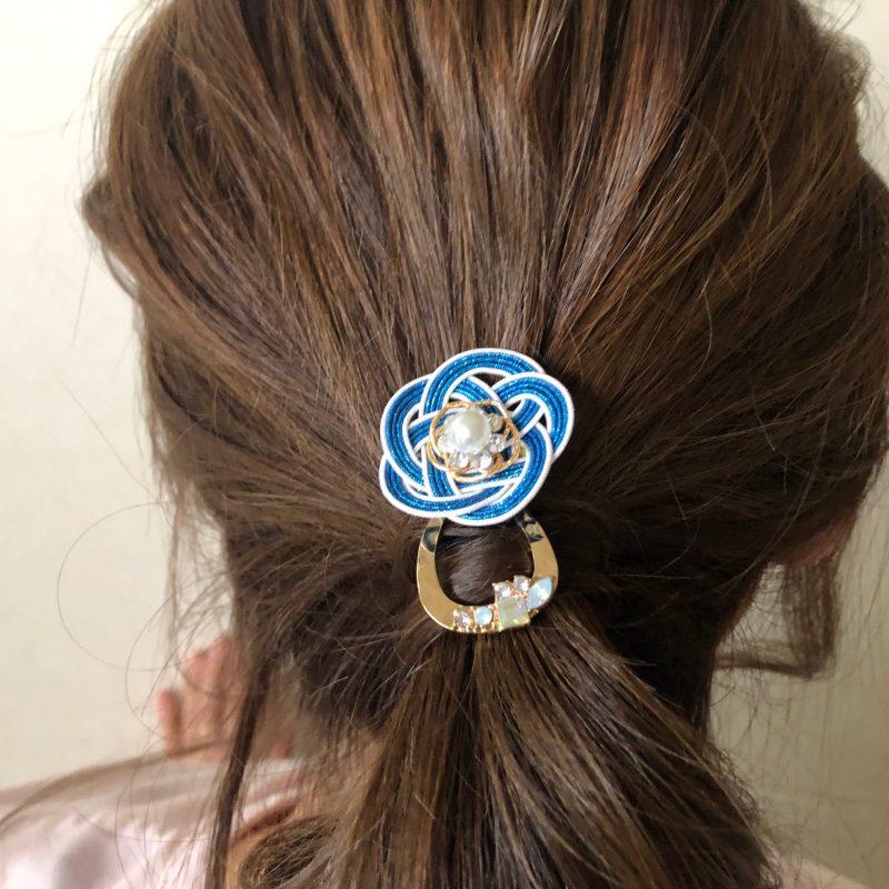 水引梅結びのヘアフック