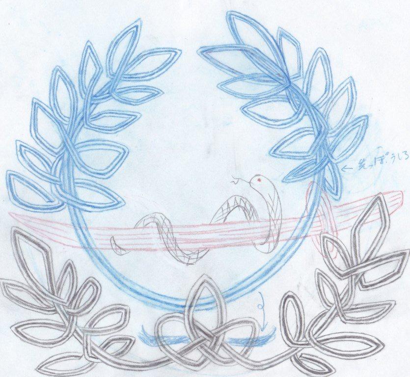 オリジナルご祝儀袋のラフイメージ