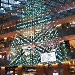 水引の巨大クリスマスツリー