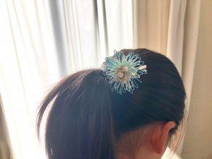 菊をイメージした水引細工