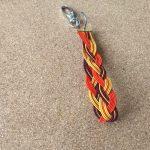 水引三つ編みキーホルダー